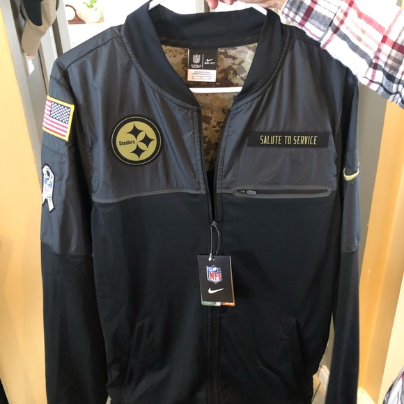 new concept 8046a e06f9 Salute to Service Steelers Jacket NWT
